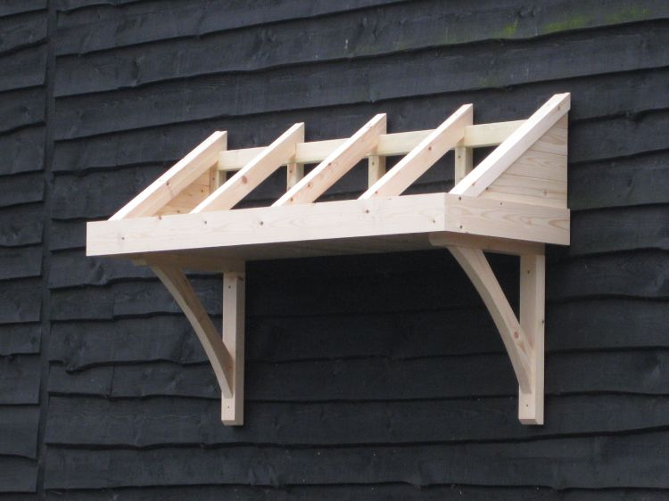 Timber Door Canopies Marlborough Style For Front Amp Back
