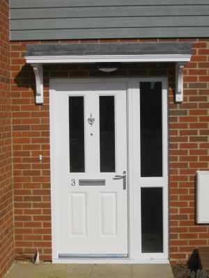 Timber Door Canopies Flat Roofed Canopies Leaded Canopies