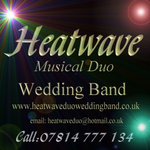 Wedding band Scotland Heatwave Duo