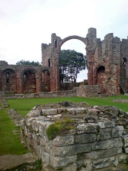 The Rainbow Arch, Lindisfarne Priory