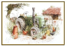 Field-Marshall Tractor by Michael Cooper