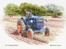 Fordson Major - The Ploughing match