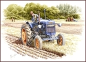 Fordson Major at Ploughing Match