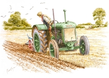 A Standard Fordson by Michael Cooper