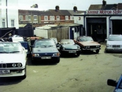 Shire Motor Services Wellingborough Winter