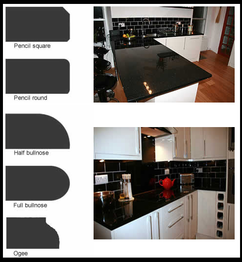Kitchen Worktops In Manchester: Finish Your Worktop Off With A Sculpted Edge