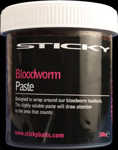 BD12 Sticky Baits Bloodworm Paste