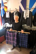 David Gill - owner of Perth City Kilts