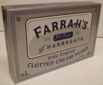 Farrah`s Clotted Cream Fudge 170g Box