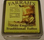 Farrah`s Falt Tin 100g Traditional Toffee