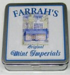 Farrah`s Flat Tin 100g Original Mint Imperials