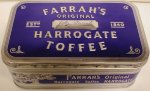 Farrah`s Harrogate Toffee Crescent Tin 350g