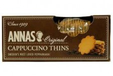 Anna`s Sweedish Cappuccino Thins Biscuits 150g