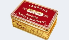 FARRAHS TOFFEE ASSORTMENT TIN