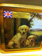 Dog In Country Tin