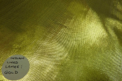 Lamie Plain Lurex Fabric Indian Quality