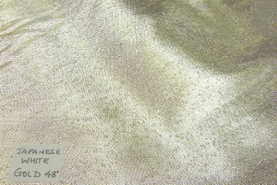 Lamie Plain Lurex Fabric Japanese Quality