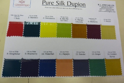 Other Pure Silk Dupion
