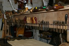 traditional saddlery workshop