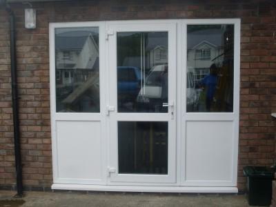best double glazed windows pvc doors sliding patio doors wales with garage  door conversion.