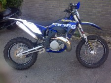 Sherco 300r 2t Enduro , Wp Rear Shock, Wp Forks ,electric Start