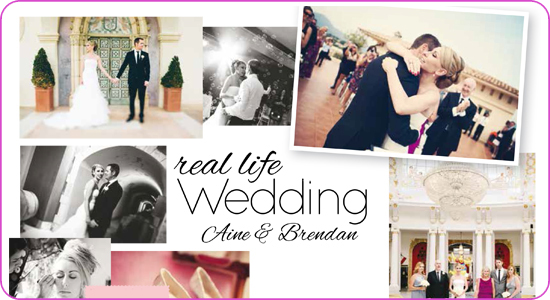Aine & Brendan real life wedding