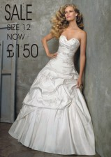 £199 Sale style 2406 size 12 SOLD AS SEEN