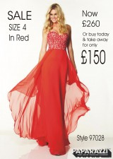 SALE now £260 size 4