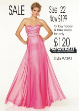 SALE now £275 size 22