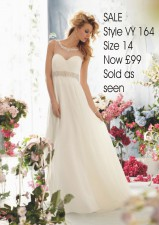 £200 Sale Style VY164 size 14 SOLD AS SEEN