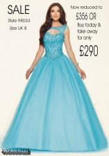 98033 IN STOCK IN SCUBA BLUE SIZE 8