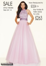 98088 IN STOCK IN LT PURPLE SIZE 14