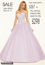 98093 IN STOCK IN LT PURPLE SIZE 12