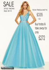 98098 IN STOCK IN BLUE SIZE 8
