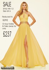 98112 IN STOCK IN BR YELLOW SIZE 6