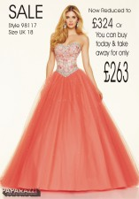 98117 IN STOCK IN CORAL SIZE 18