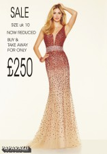 98122 IN STOCK IN RED/NUDE SIZE 10