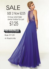 Sale size 2 in Royal Blue