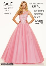 £367 SALE size 8 in CottonCandy style 98063