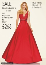 £324 SALE size 12 in Red 98132