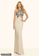 £265 SALE style 98143 IN NUDE SIZE 6