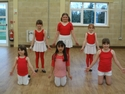 Junior Troupe rehearsal for Red Cross