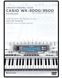 DVD-002 Casio DVD Manual WK3000/WK3500/CKT691
