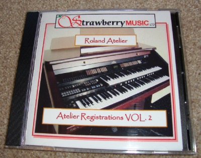 RD3005A Atelier Registrations Vol.2 Disk AT80SL, AT90SL S or SL