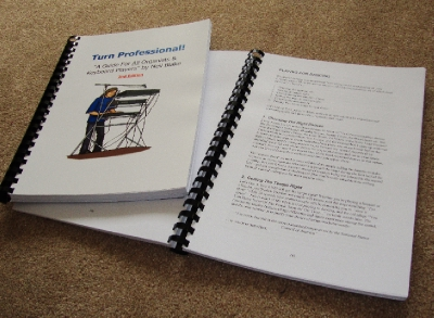 TURNPROBK A GUIDE FOR ALL ORGANISTS & KEYBOARD PLAYERS book