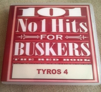 101no1REDBOOKT4 101 Number 1 Hits For Buskers red book TYROS 4