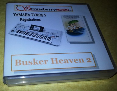 BH2T5 BUSKER HEAVEN 2 Tyros 5 registrations