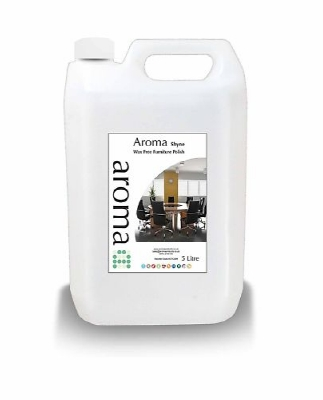 93  Aroma Shyne Wax Free Surface Furniture Polish 1x5 Litre