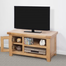 Devon Oak Small TV Unit