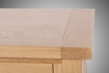 Devon Oak Console table with 2 drawers